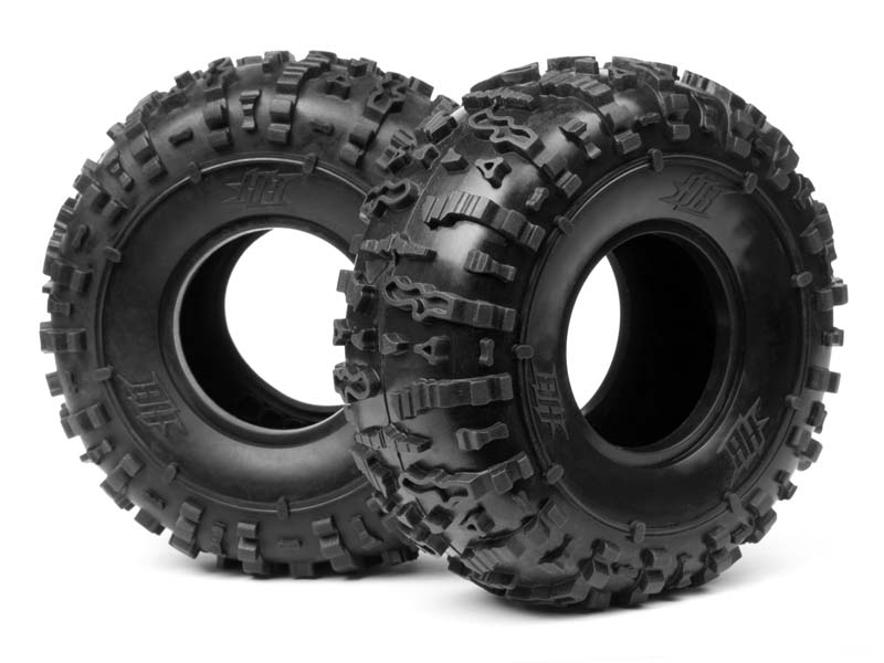 "Pink 2 HBS67916 HB Racing Rover-EX 2.2/"" Rock Crawler Tires"