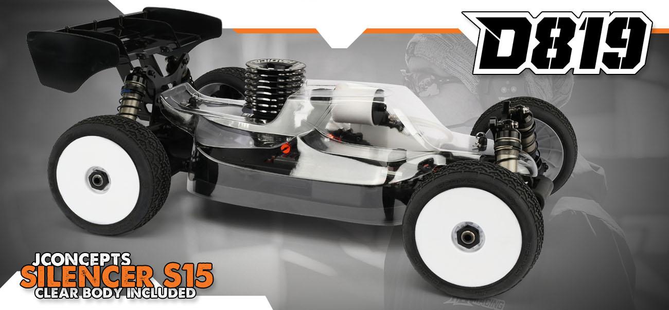 HB Racing D819 1/8 World Champion Nitro Buggy | HB Racing